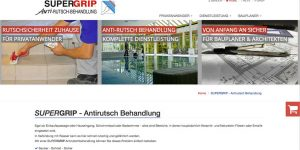 Supergrip Anti-Rutsch Website